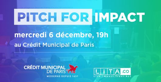 Evenement : picth for impact by lita.co le 06/12