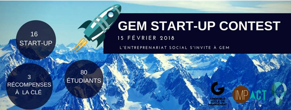 GEM Start-up Contest – Grenoble 15/02