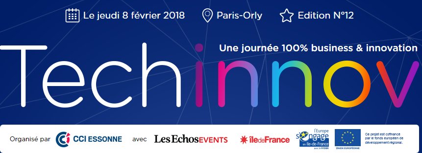 TECHINNOV : le rdv 100% innovations ! Le 8/02 à Paris-Orly