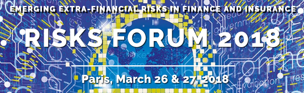 11th Financial Risk Forum 2018 26&27 mars à Paris