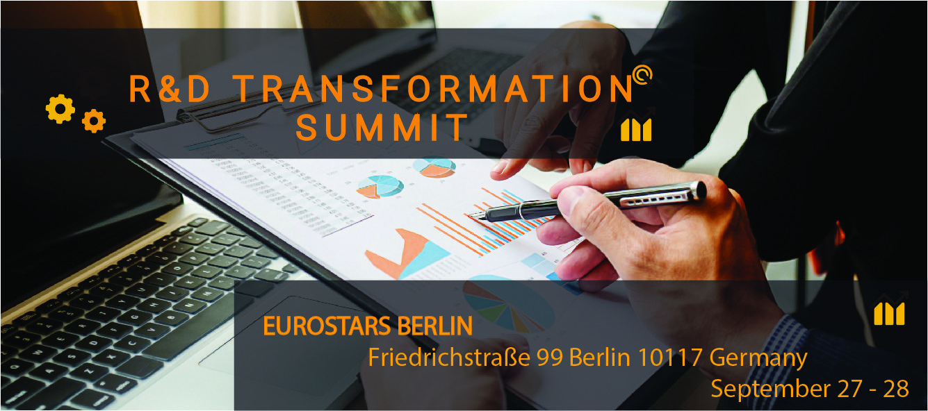 R&D Transformation Summit 2018 (September 27-28, Eurostars Hotel Berlin)