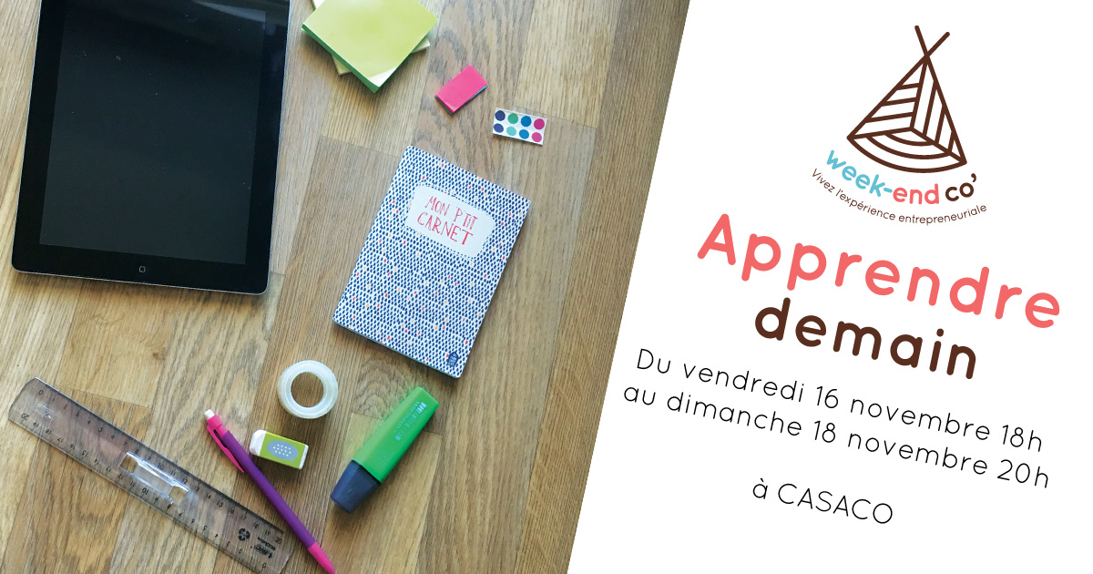 Week-end Co « Apprendre demain »