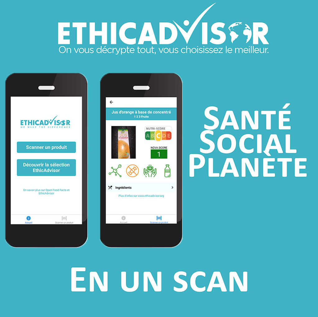 EthicAdvisor, scanner pour mieux consommer