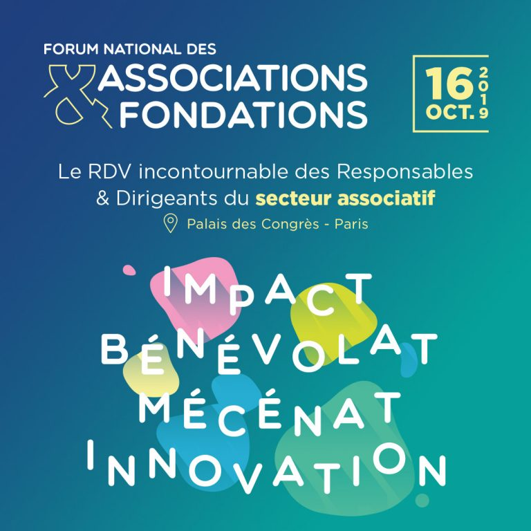 Forum National des Associations & Fondations le 16/10