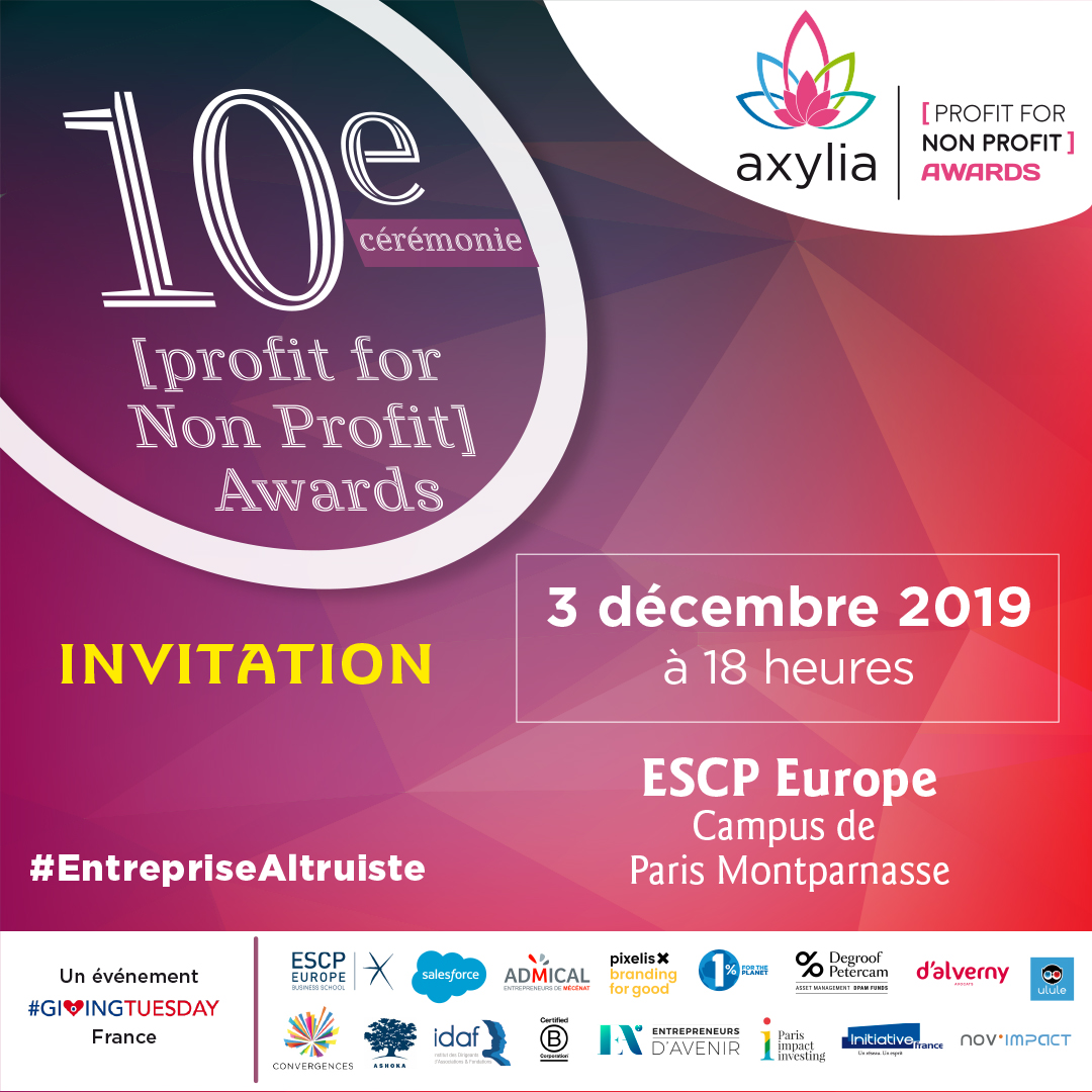 [profit for Non Profit] Awards | 10ème édition