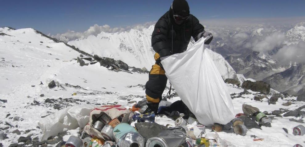 Clean Everest, une solution à l'inadmissible pollution