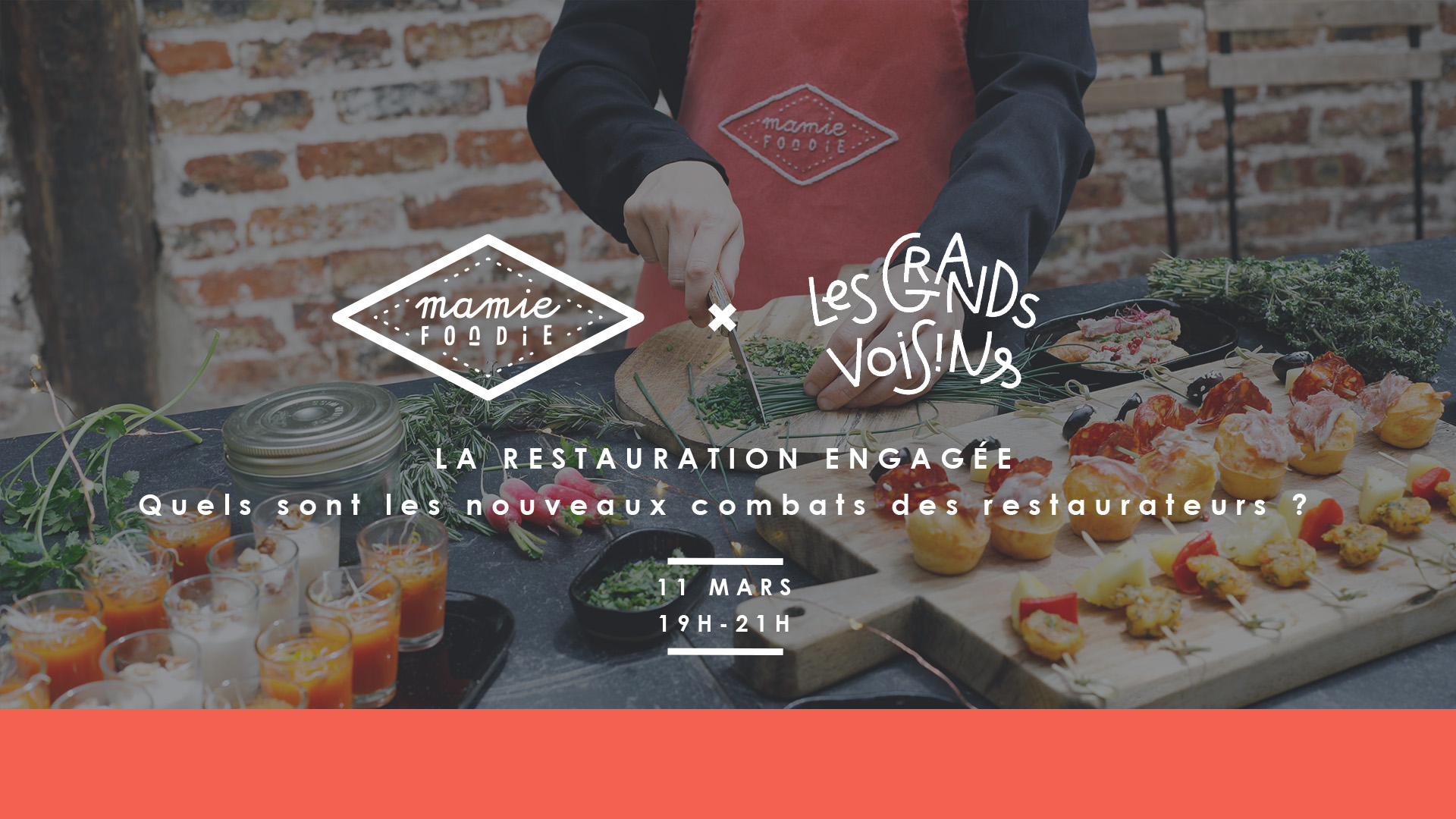 Meet up – La restauration engagée le 11/03