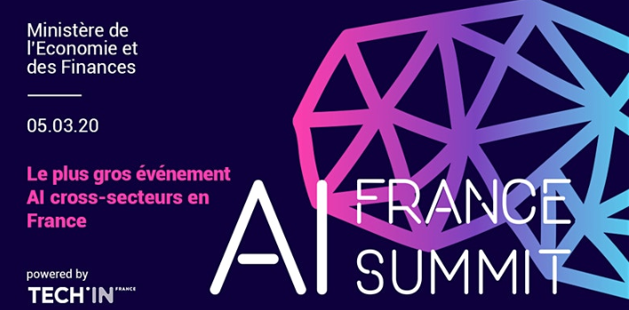AI France Summit (Intelligence Artificielle) le 5/03