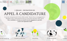 Appel à candidature – l'incubateur I-Engage Paris8 Saint-Denis – Promotion 2020-2021