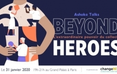 Ashoka talks au ChangeNow Summit le 31/01