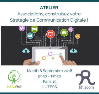Associations, envie de vous former à la stratégie de communication ? Formation le 18/09 !