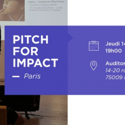 #PitchForImpact le 14 Mars au Grand Auditorium, Paris