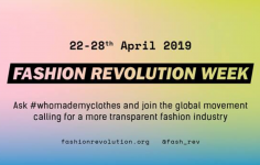 Fashion Revolution Week du 20/04 au 28/04