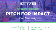 #PitchForImpact – Garden Party le 02/07
