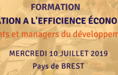 [ Formation ] Journée initiation à l'efficience économique le 10/07