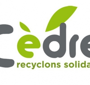 Cèdre, recyclons solidaire.