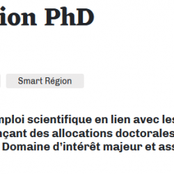 Appel à projets Paris Région PHD 2020