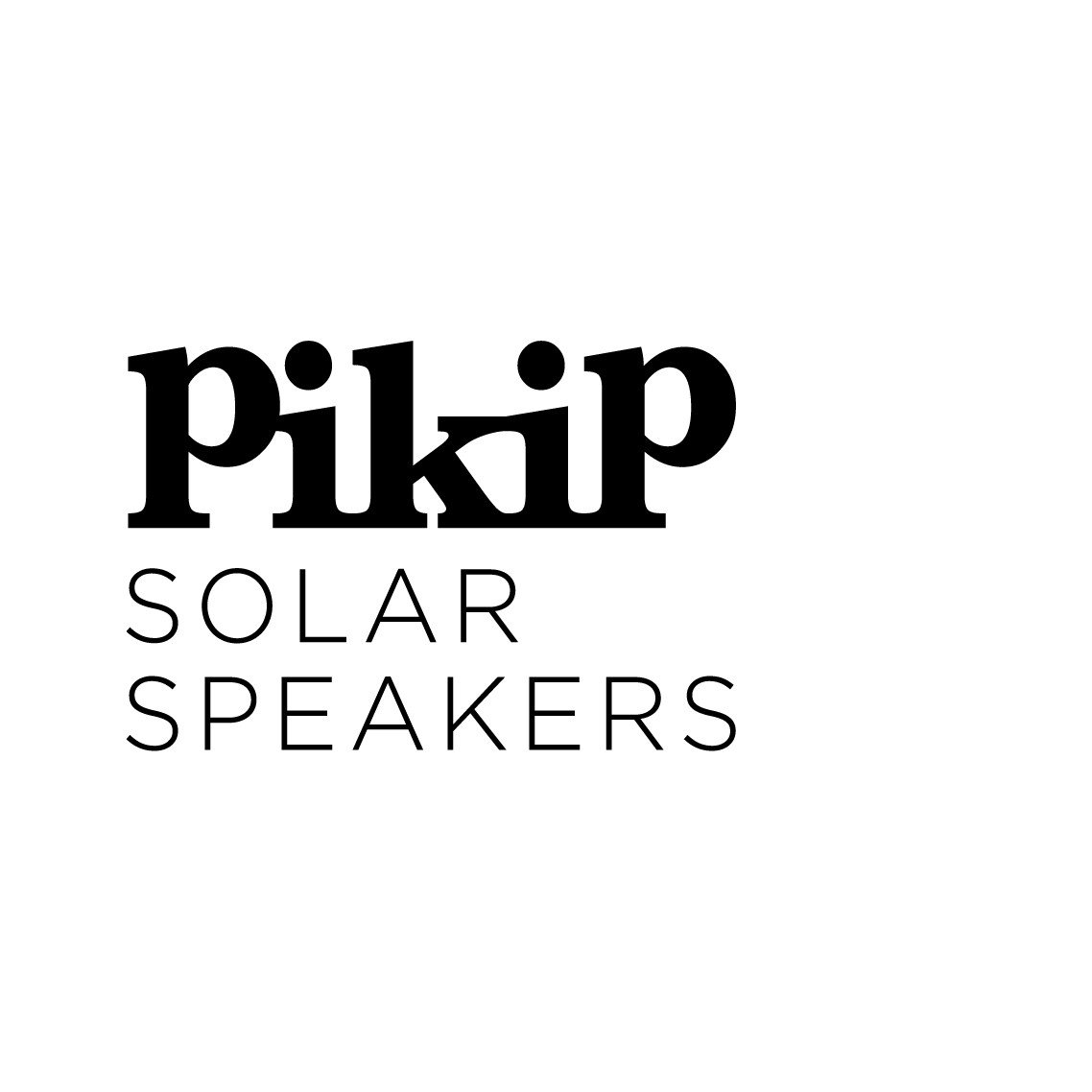 PIKIP SOLAR SPEAKERS