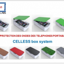 CELLESS protège des ondes des portables gsm !