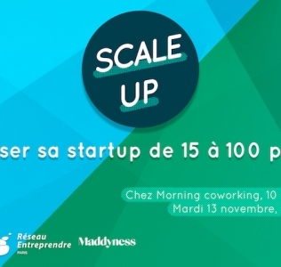 Scale Up – Faire passer sa start-up de 15 à 100 personnes