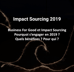 14/02 : Business For Good et Impact Sourcing 2019