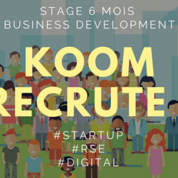 Stage Business Development – Startup (mars2018)