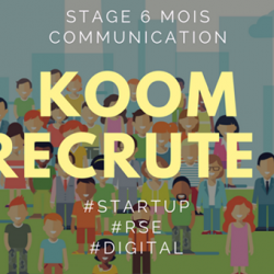 Koom – Stage Communication/Marketing #start-up