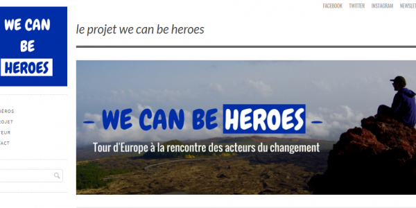 Suivez les aventures de WE CAN BE HEROES