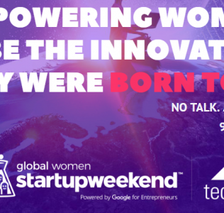 Global Startup Weekend Women : No talk. All action.  9-11/02