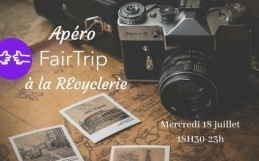 Apéro FairTrip à la Recyclerie le 18/07 à Paris