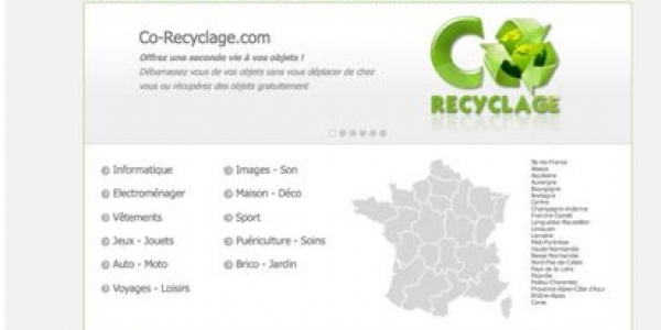 Co-recyclage : la marketplace vertueuse