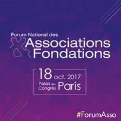 Participez au Forum national des associations et fondations le 18/10