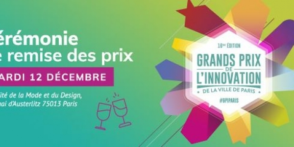 Grand prix de l'innovation de la ville de paris le 12/12