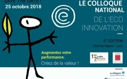 Rendez-vous au colloque de l'Eco-innovation le 25 octobre !