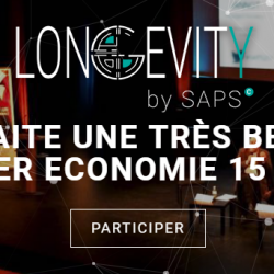 Longevity by saps : Le rdv international de la Silver Economie 15-16/05 à Bordeaux