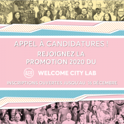 Appel à projets tourisme au Welcome City Lab < 16/12