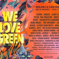 We Love Green, festival engagé 01-02/06 à Paris