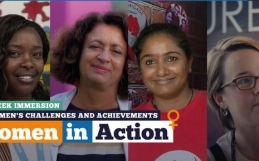 Le programme women in action se poursuit  du 13/11 au 9/12